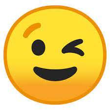 😉 Visage Faisant Un Clin D'œil Emoji